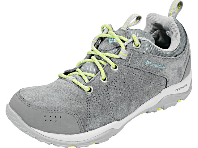 Columbia Fire Venture Low Waterproof Shoes Damen ti grey steel/aquarium